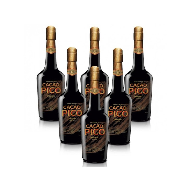 PACK 6 BOTELLAS CACAO PICO
