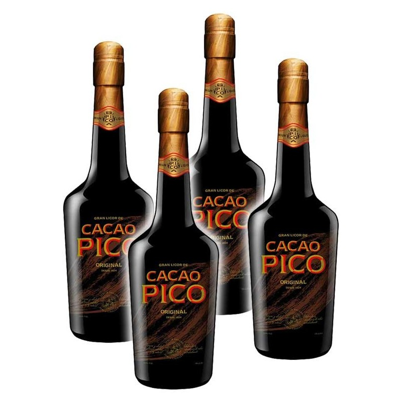 PACK 4 BOTELLAS CACAO PICO